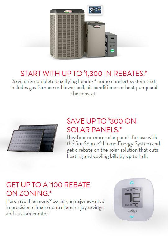 Lennox Specials Furnace Air Conditioner Air Handler